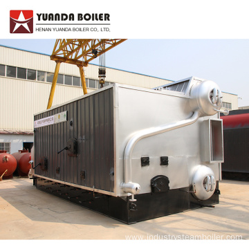 6 ton hour Rice Husk Fired Steam Boiler